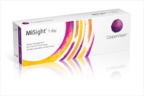 Vi introducerar MiSight® 1 day