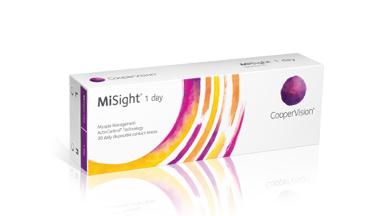 Vi presenterar MiSight(R)-endagskontaktlinser med ActivControl(R)-teknik